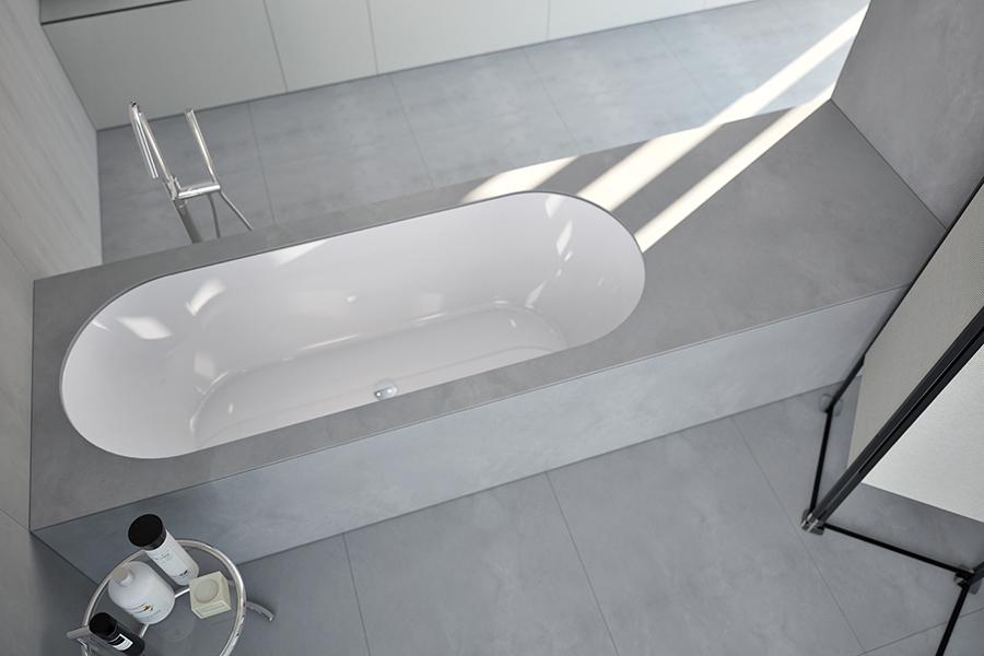 vasca sovrapiano bacino ovale
